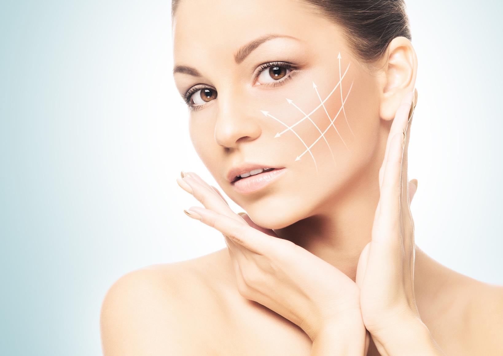 Подтяжка кожи лица и шеи в домашних условиях